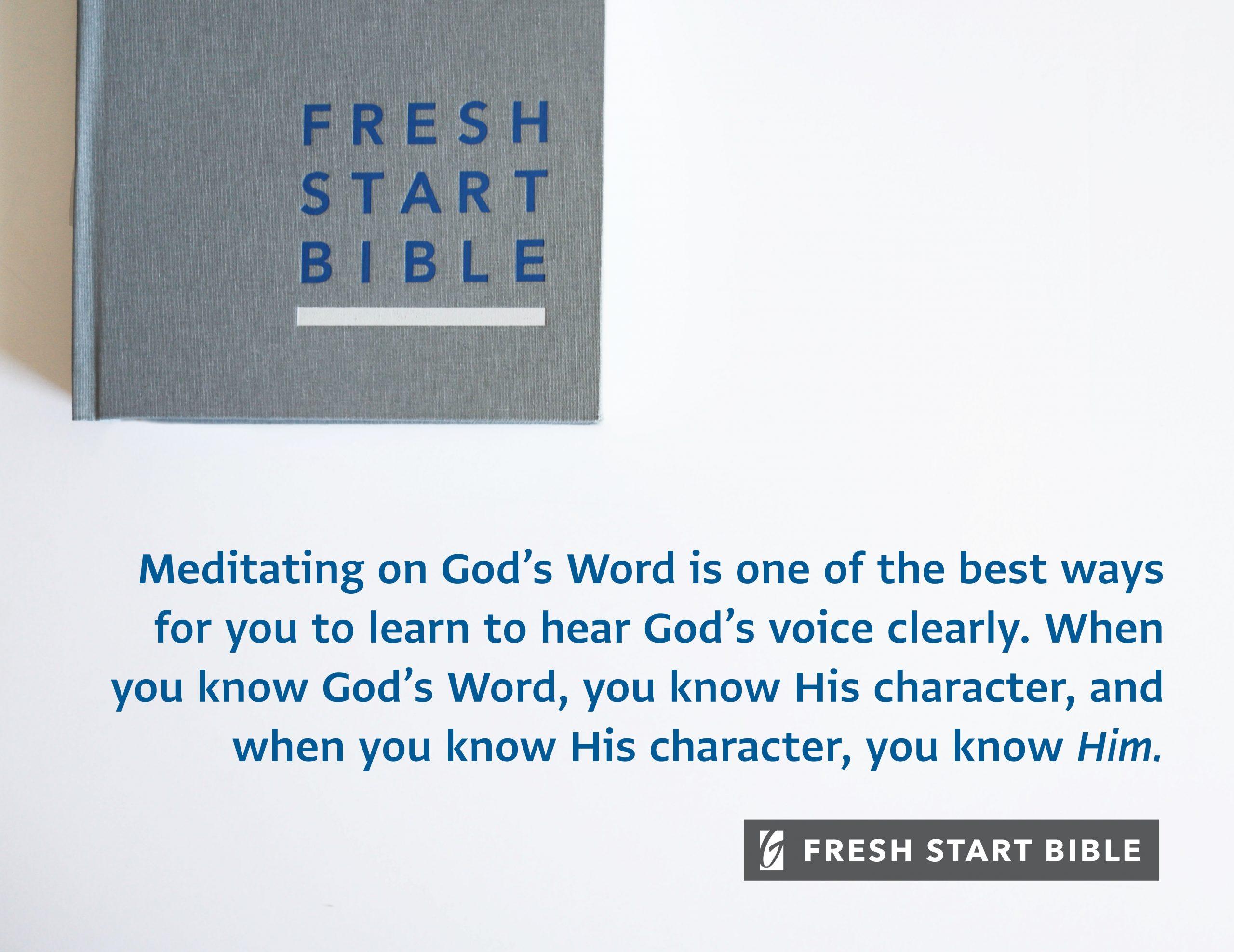 Fresh Start Bible