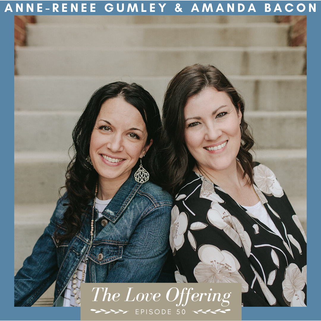 Anne-Renee Gumley and Amanda Bacon