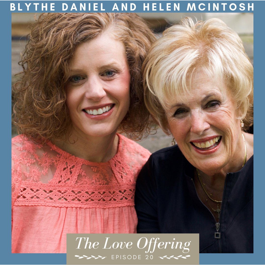 Blythe Daniel and Helen McIntosh