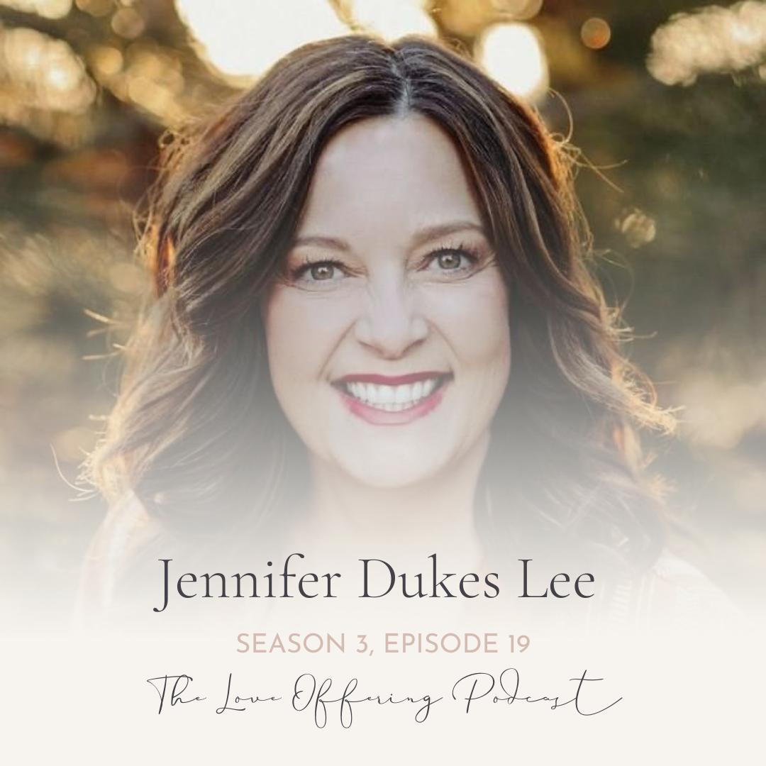 Jennifer Dukes Lee