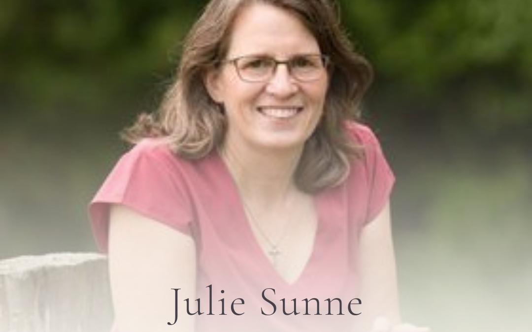 S3E32 Podcast Show Notes: Love Large With The Little You Have with Julie Sunne